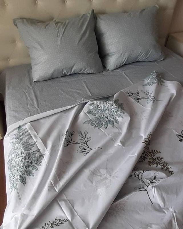 Постельное белье лист папоротника . полуторный - Фото 2