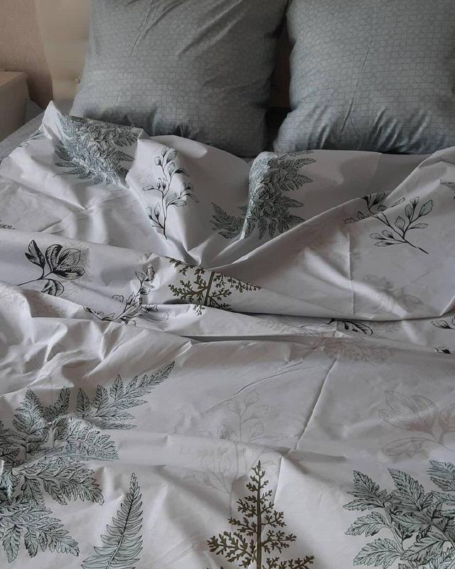 Постельное белье лист папоротника . полуторный - Фото 3