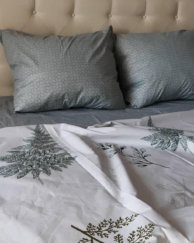 Постельное белье лист папоротника . полуторный - Фото 4