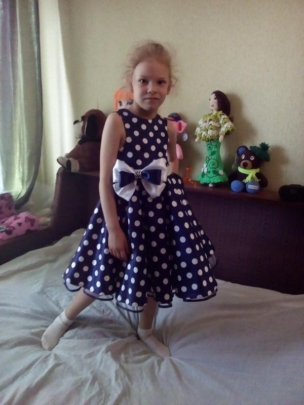 Детское платье в стиле ретро ′ стиляги