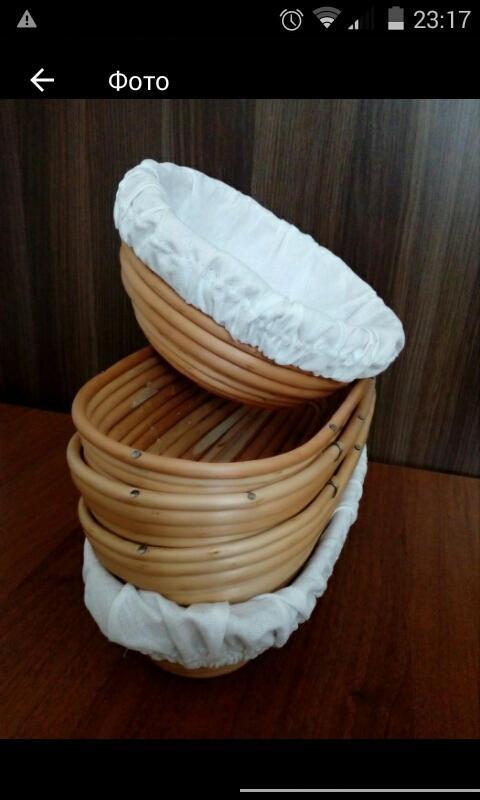 Форма плетеная.форма для расстойки теста