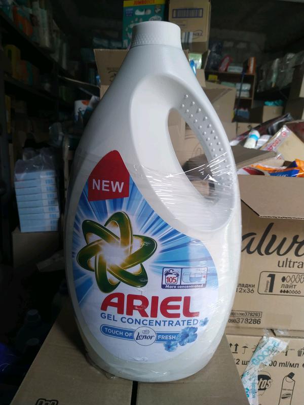 Ariel lenor Fresh Универсальный стиральный жидкий порошок 5.775 л