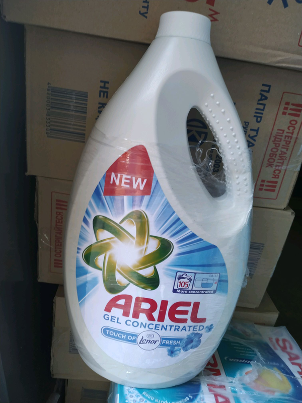 Ariel lenor Fresh Универсальный стиральный жидкий порошок 5.775 л - Фото 2