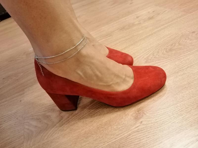 Стильные туфли. из натуральной замши nine west. zara. naturalizer - Фото 7