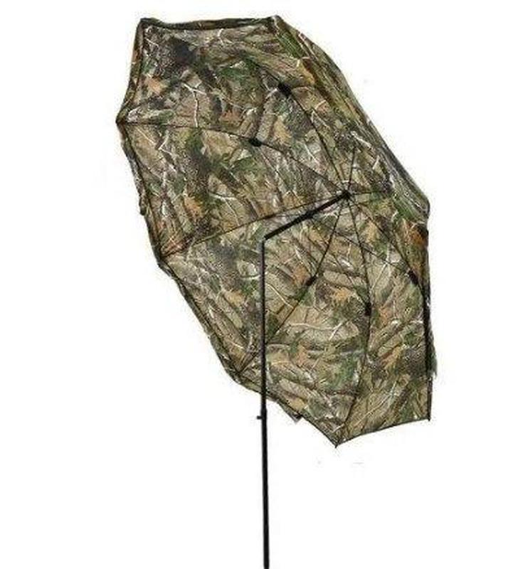 Зонт палатка для рыбалки окно d2.2м SF23817 Дубок Хаки/Зелёный - Фото 2