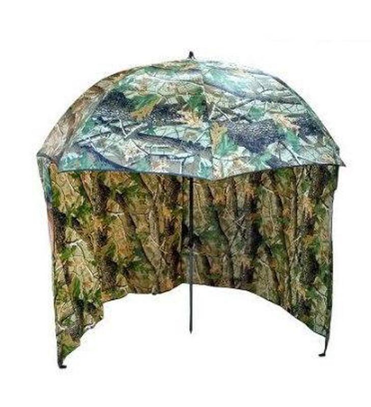 Зонт палатка для рыбалки окно d2.2м SF23817 Дубок Хаки/Зелёный - Фото 6