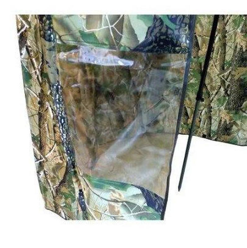 Зонт палатка для рыбалки окно d2.2м SF23817 Дубок Хаки/Зелёный - Фото 3