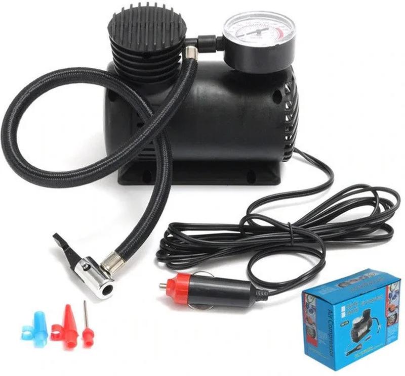 Портативный электрический насос Автокомпресор