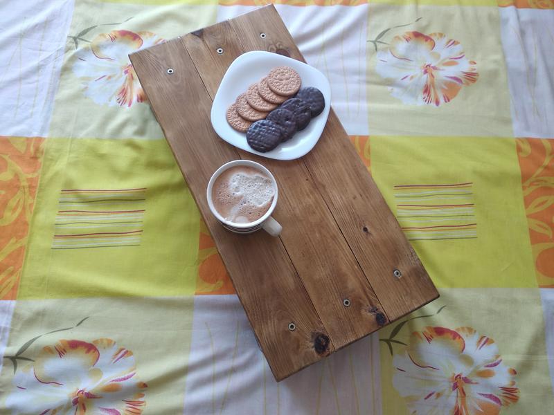 Столик для кровати. Ручная работа - Фото 5