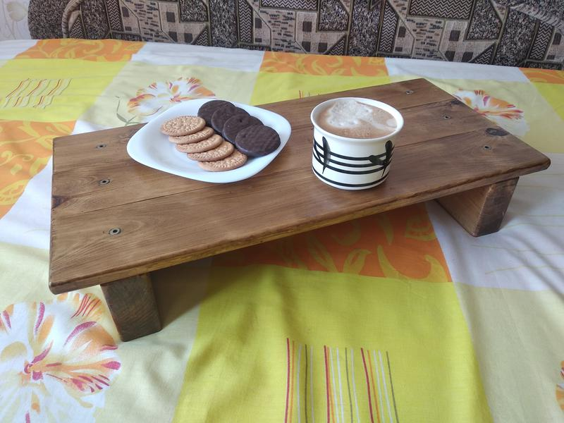 Столик для кровати. Ручная работа - Фото 4