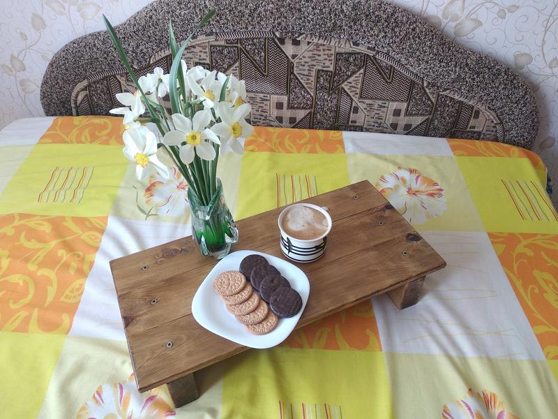 Столик для кровати. Ручная работа - Фото 3
