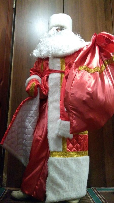 рыболовных снастях, костюм новогодний мешок фото дождавшись, обратилась