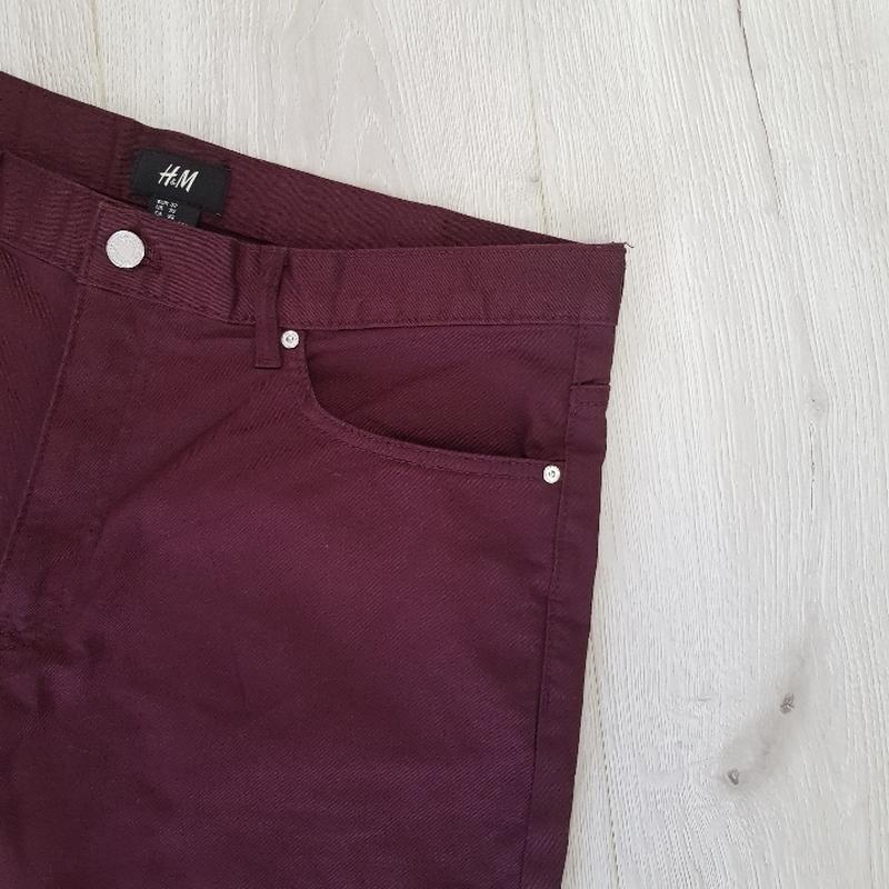 Бордовые мужские шорты - Фото 4