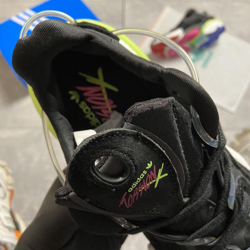 Adidas Originals Torsion X Black (Чёрный) - Фото 5