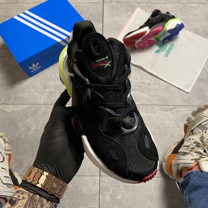 Adidas Originals Torsion X Black (Чёрный) - Фото 2