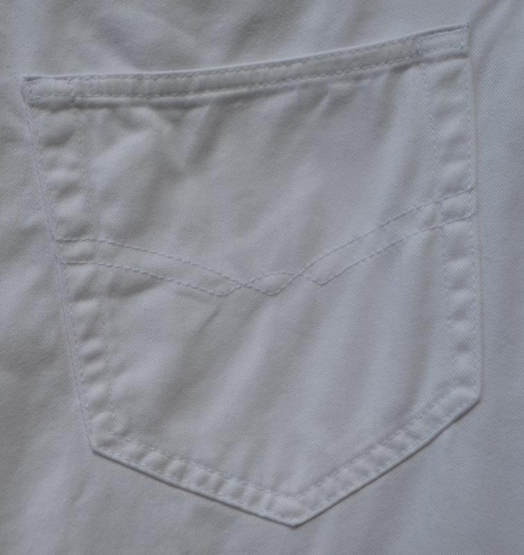 Tрендовые белые джинсы mom 👖 c высокой посадкой от бренда shap... - Фото 5