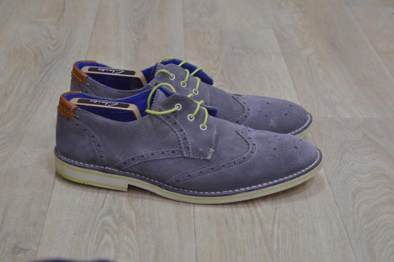 Мужские замшевые туфли броги оригинал англия sale!