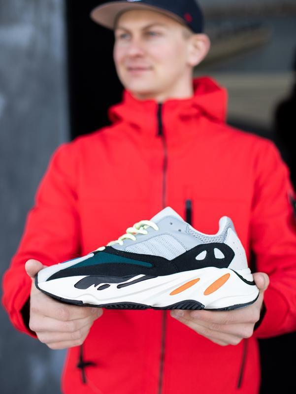 Классные мужские кроссовки adidas yeezy boost 700 wave runner ...