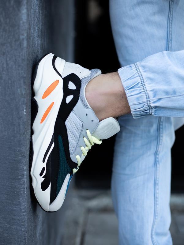 Классные мужские кроссовки adidas yeezy boost 700 wave runner ... - Фото 3