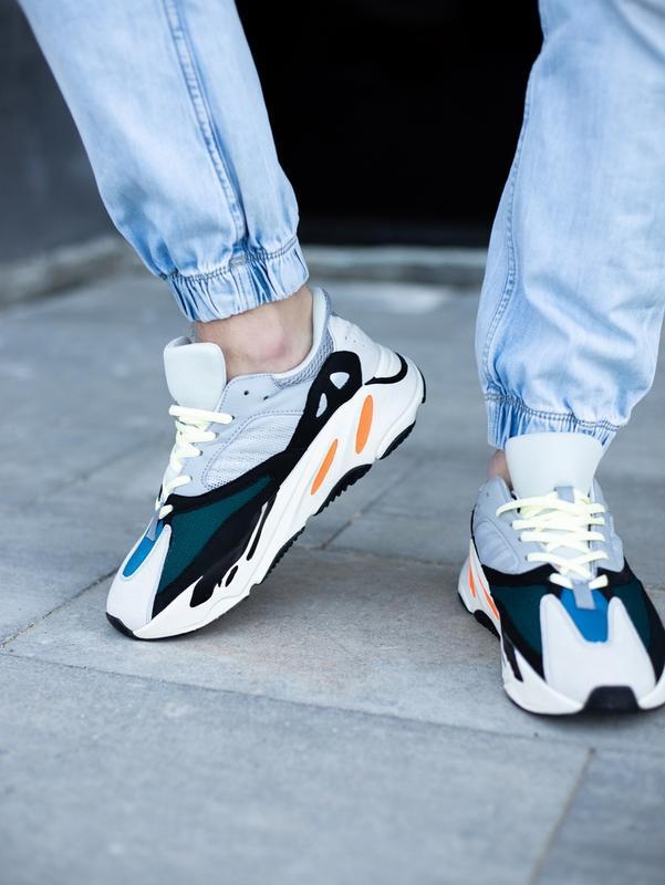 Классные мужские кроссовки adidas yeezy boost 700 wave runner ... - Фото 4