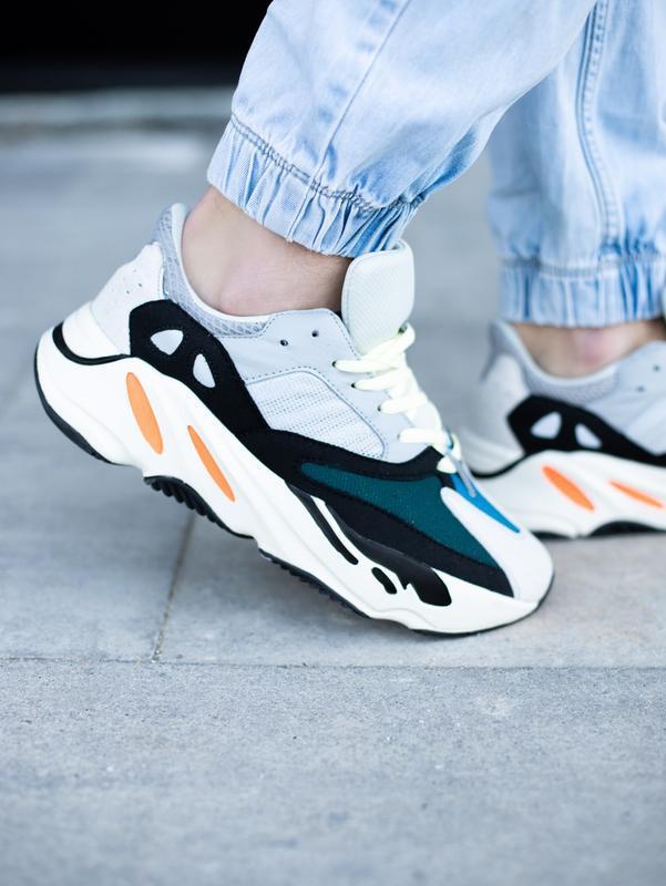 Классные мужские кроссовки adidas yeezy boost 700 wave runner ... - Фото 5