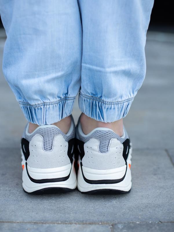 Классные мужские кроссовки adidas yeezy boost 700 wave runner ... - Фото 6