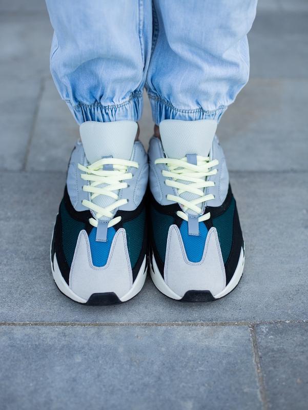 Классные мужские кроссовки adidas yeezy boost 700 wave runner ... - Фото 7