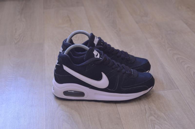 Nike air max черные женские кроссовки кожа оригинал осень весн...