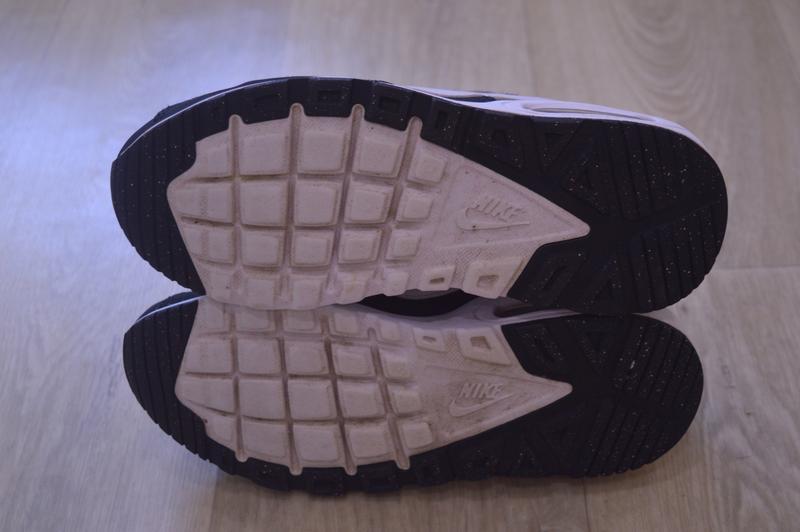 Nike air max черные женские кроссовки кожа оригинал осень весн... - Фото 5