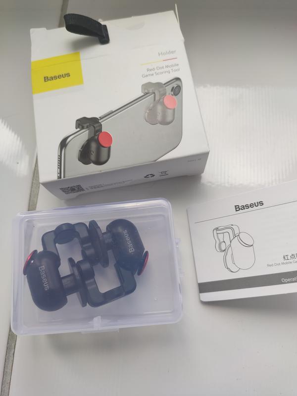 Триггеры с кнопками Baseus для PUBG,геймпад для телефона, курки - Фото 7