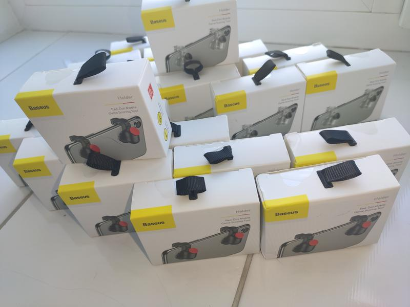 Триггеры с кнопками Baseus для PUBG,геймпад для телефона, курки - Фото 5