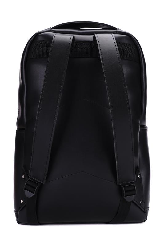 Рюкзак для міста чоловічий / городской черный мужской экокожа - Фото 5