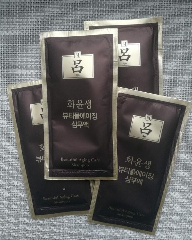 Шампунь для жирной кожи головы  ryo hwa yun beautiful aging ca...