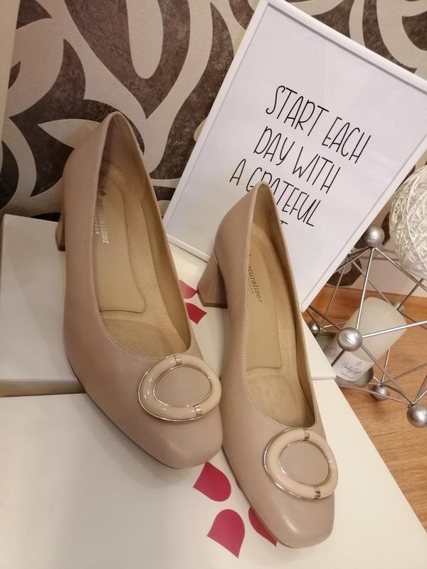 Стильные туфли. натуральная кожа nine west