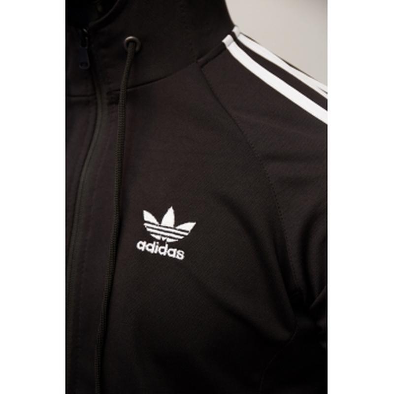 Костюм спортивный мужской adidas  черный в стиле бренда - Фото 3