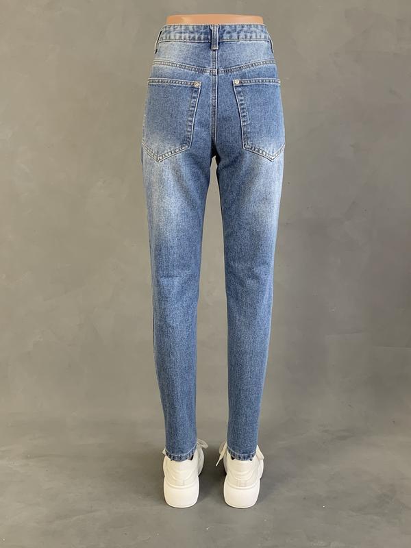 Новые джинсы мом / момы высокая посадка. - Фото 2