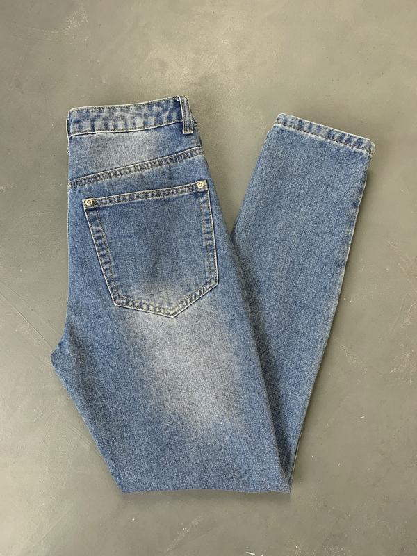 Новые джинсы мом / момы высокая посадка. - Фото 5