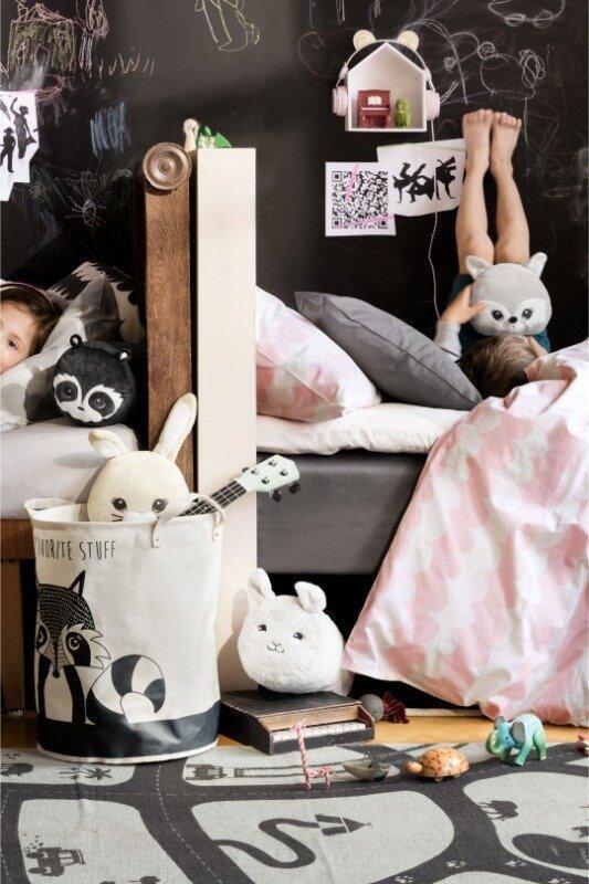 Детский полуторный комплект постельного белья150х200 50х60 h&m... - Фото 2