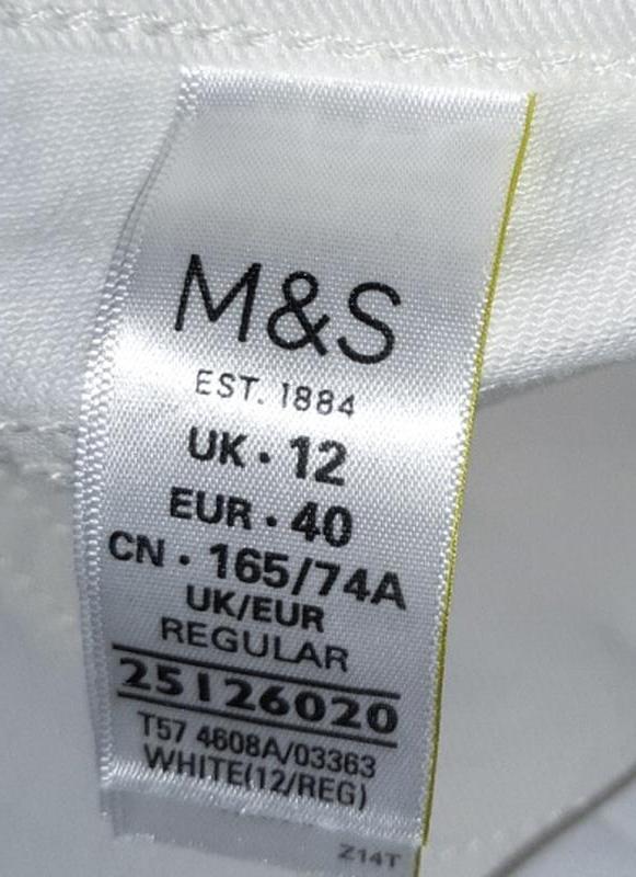 🎁1+1=3 узкие высокие мом mom джинсы marks&spencer высокая поса... - Фото 2