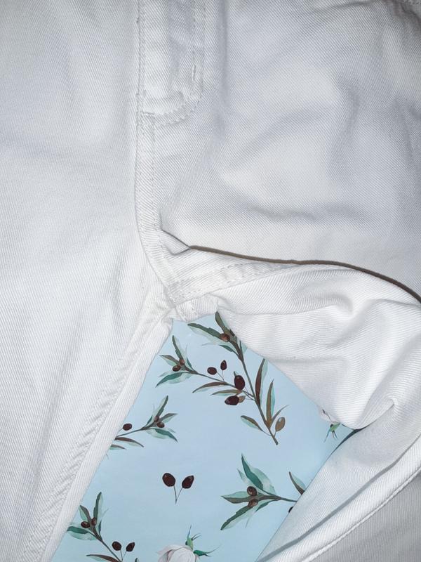 🎁1+1=3 узкие высокие мом mom джинсы marks&spencer высокая поса... - Фото 6