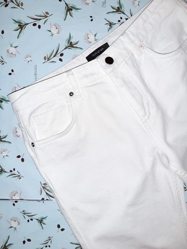 🎁1+1=3 узкие высокие мом mom джинсы marks&spencer высокая поса... - Фото 8