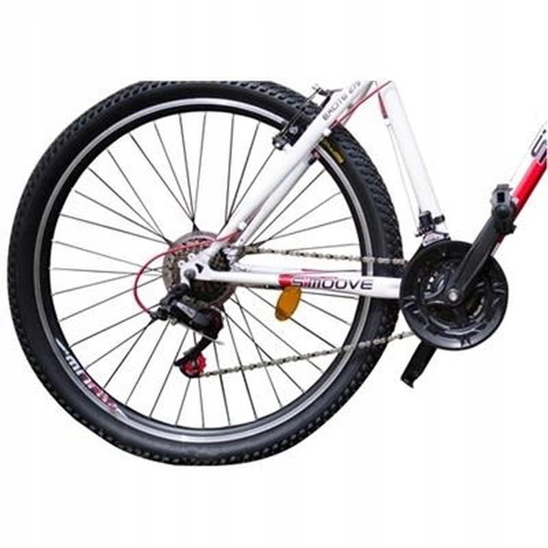 Горный велосипед MTB - S'moove Excite 27,5 - бело/красный - Фото 5