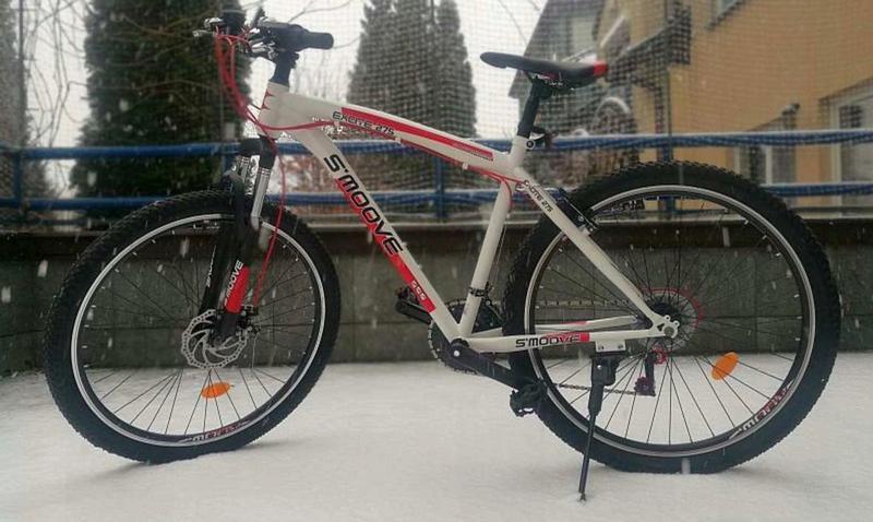 Горный велосипед MTB - S'moove Excite 27,5 - бело/красный - Фото 2