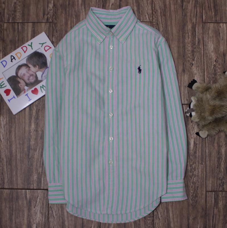 Классная качественная рубашка в полоску