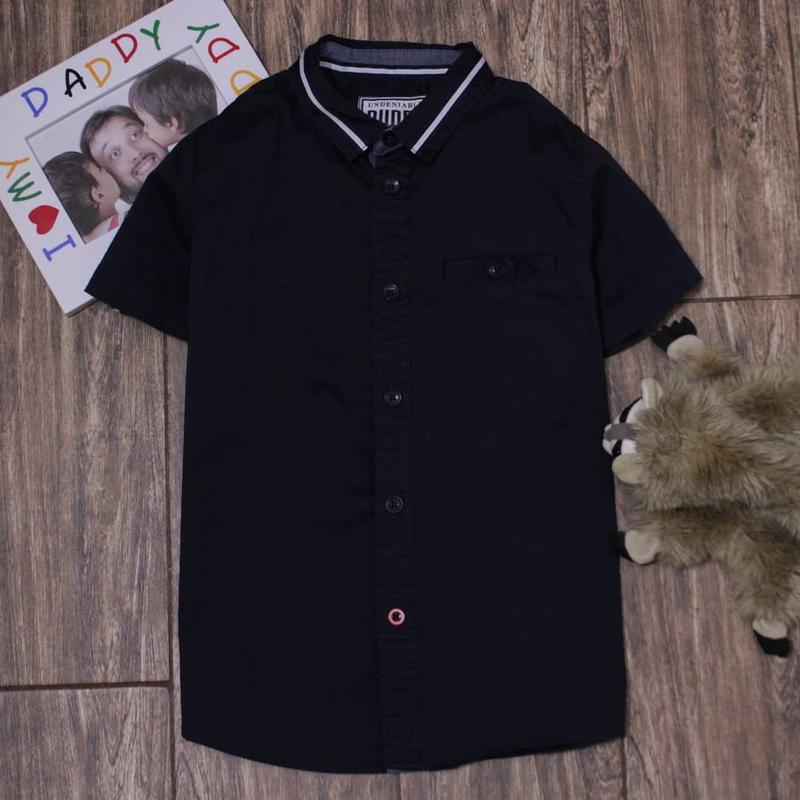 Качественная летняя хлопковая рубашка