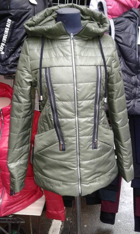 Куртка балон повномір весняна