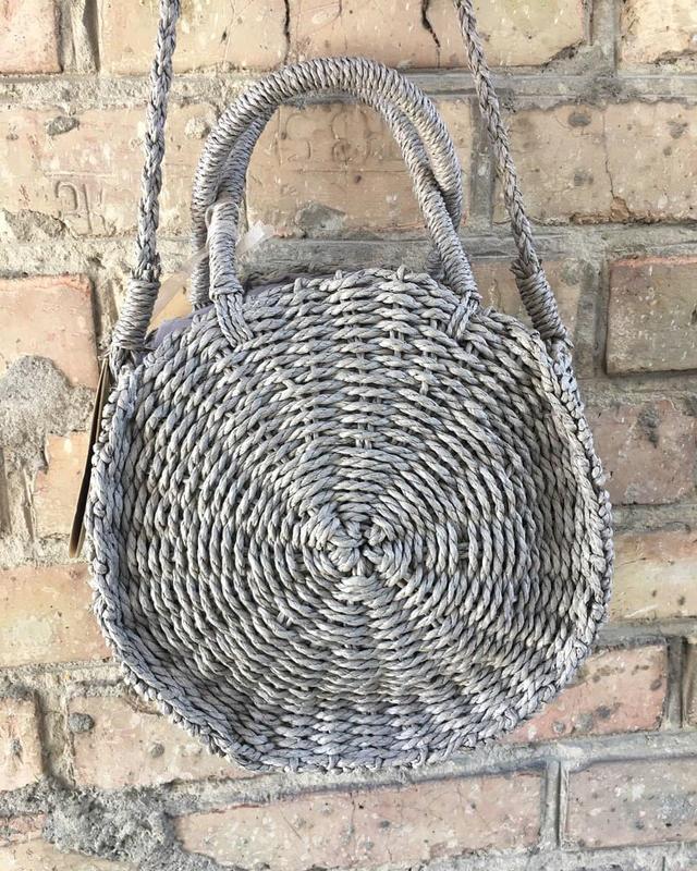 Солом'яна сумка