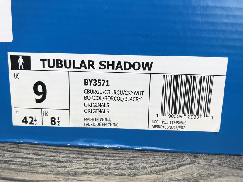 Мужские кроссовки adidas tubular shadow оригинал из сша - Фото 9