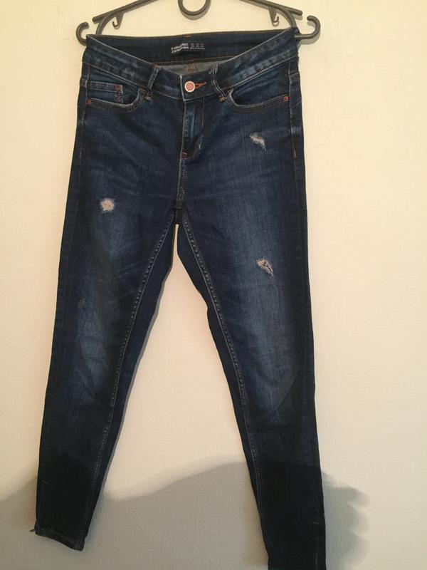 Брендовые джинсы зауженые  24р. - Фото 2