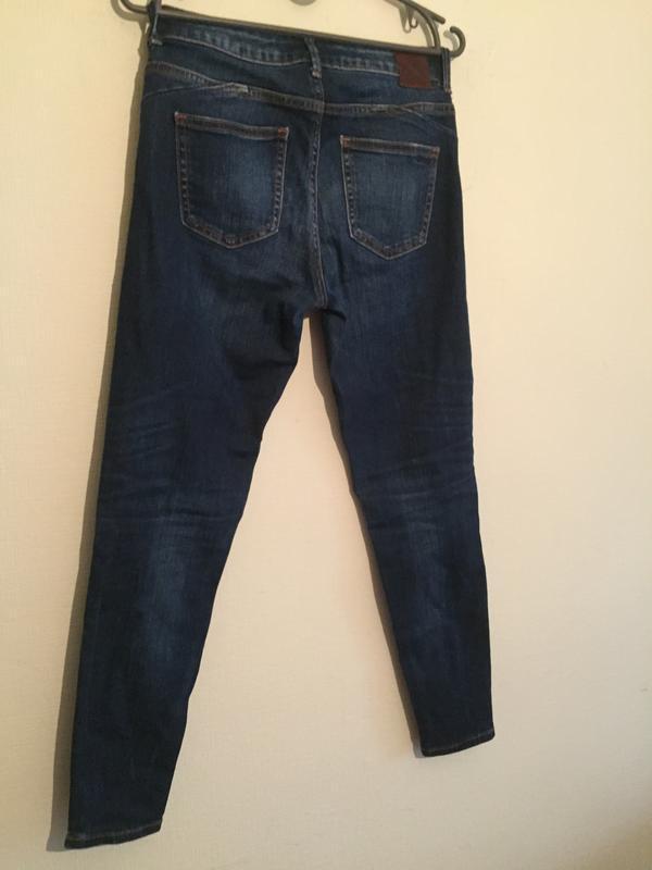 Брендовые джинсы зауженые  24р. - Фото 3
